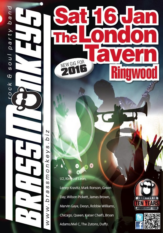 PictuBrassMonkeys Live at The London Tavern Sat 16 Jan 2016re