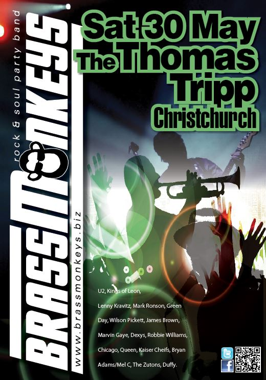 BrassMonkeys at Thomas Trip Sat 30 May 2015