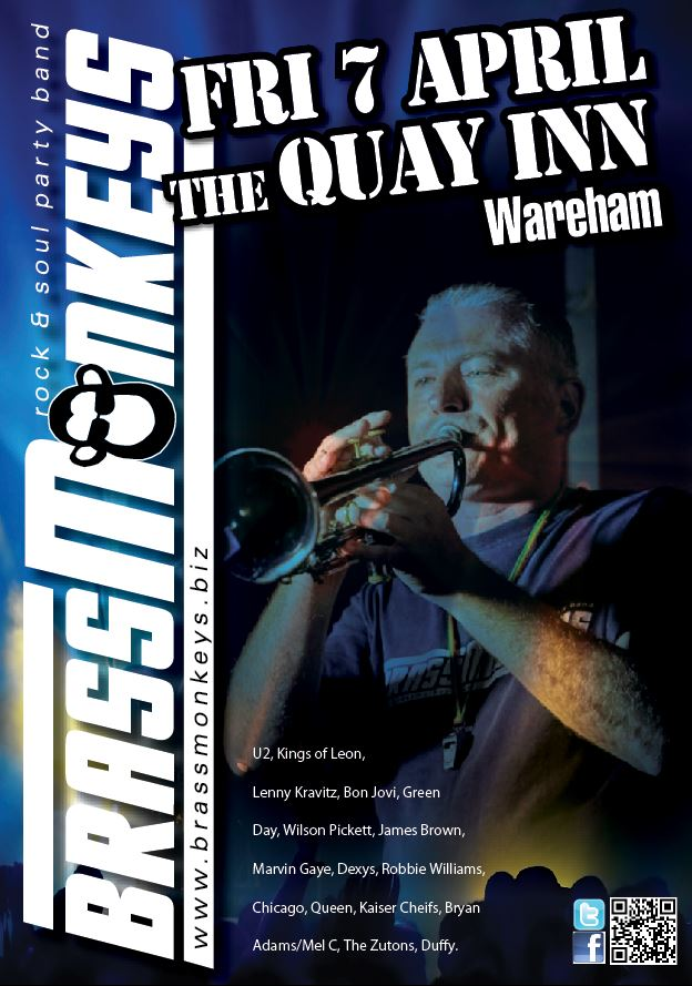BrassMonkeys at The Quay Inn - Wareham - Fri 7 April 2017